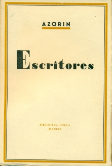 Escriitores de Azorin
